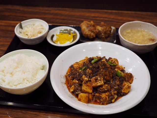 画像: 本格的な味わいの四川麻婆豆腐のランチセットは美味しくてボリューム満点でお値打ちです! 江坂 「華や 江坂店」