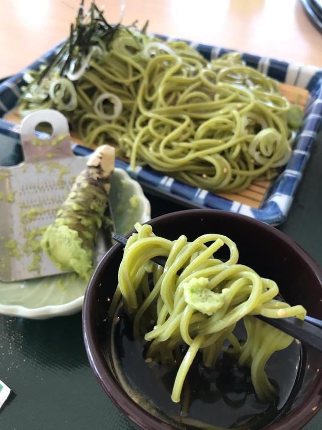 画像: 茶そばとわさびで静岡グルメーふじのくに茶の都ミュージアムでランチ