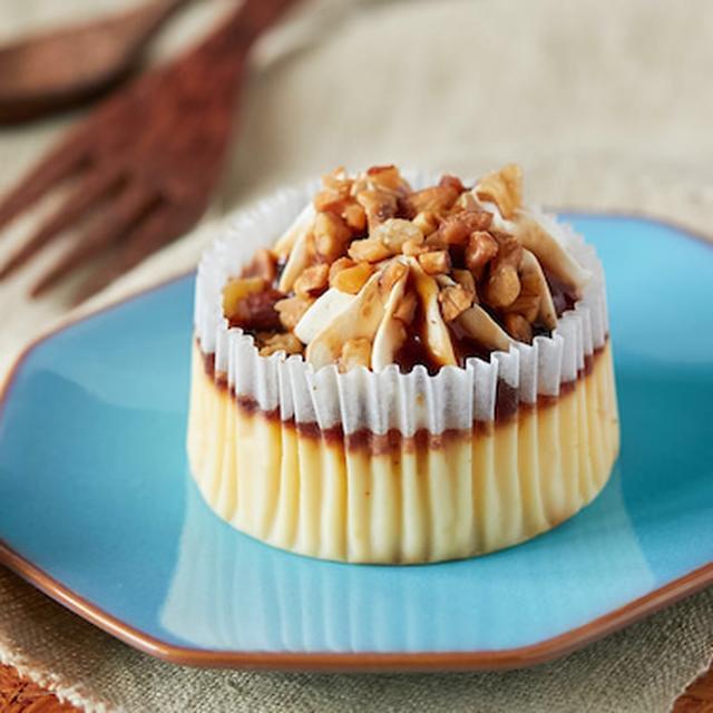 画像: コンビニスイーツ・ローソン プレミアムバスチー バスク風チーズケーキ