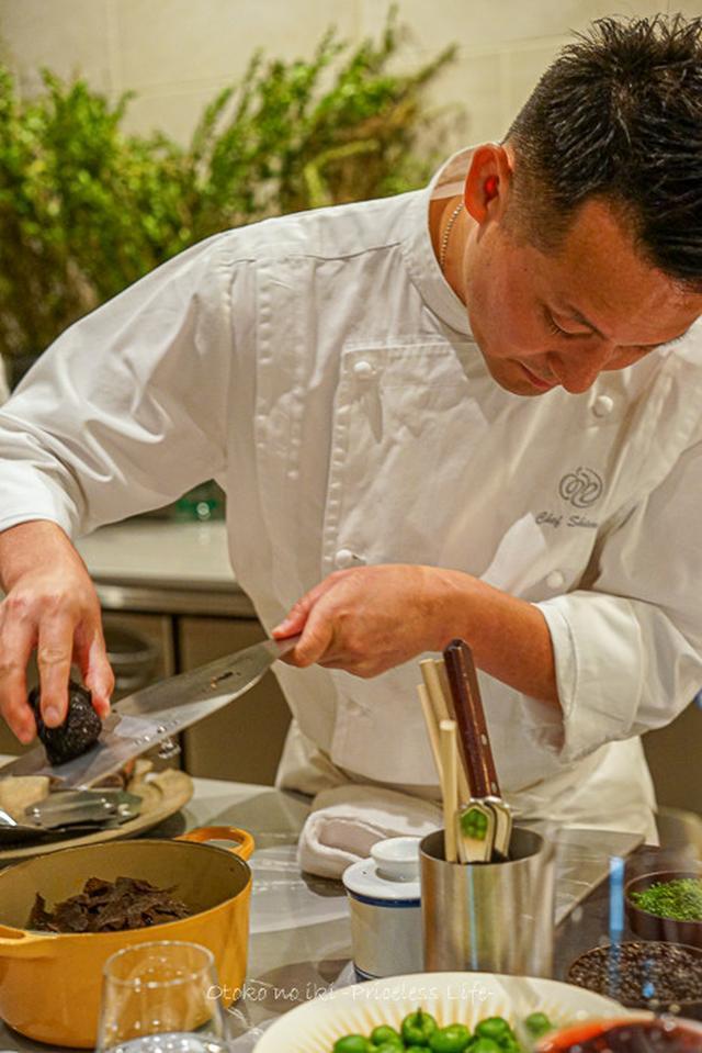 画像: a nu (広尾)SHOHEI SHIMONO料理というカテゴリー