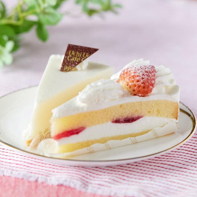 画像: コンビニスイーツ・ローソン 苺のショートケーキ&レアチーズケーキ