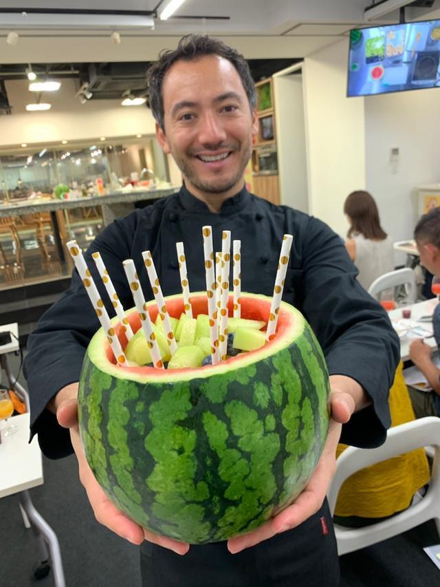 画像: ヨーロッパ美食術!イタリア野菜果物で 料理研究家ベリッシモ氏の ワークショップへ♪