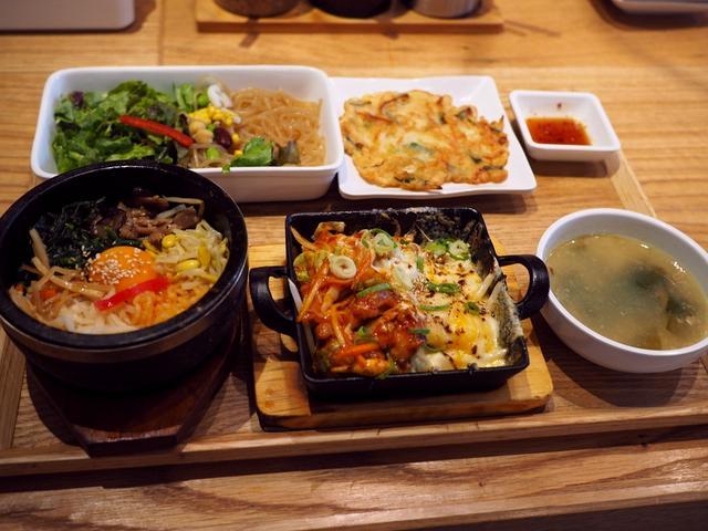画像: 本格的な味わいの韓国料理が2種類選べるランチセットは美味しくてお得で満足感が高いです! 梅田 「韓美膳 グランフロント大阪店」