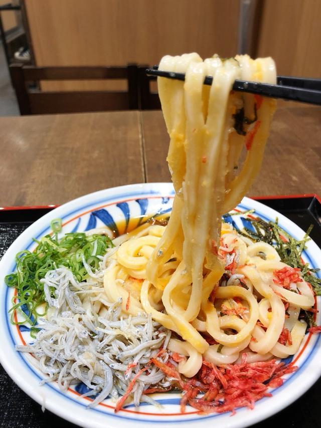 画像: つくもうどん 塩小路本店@京都駅