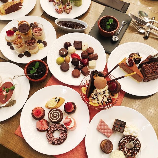 画像: 60種以上!!️チョコレート・スイーツブッフェ 本日から開催 ANAインターコンチネンタルホテル東京