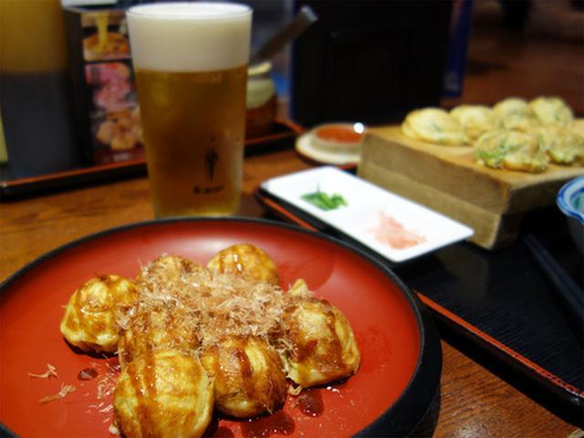 画像: 【大阪】たこ焼き&明石焼き♪@たこ家 道頓堀くくる 本店