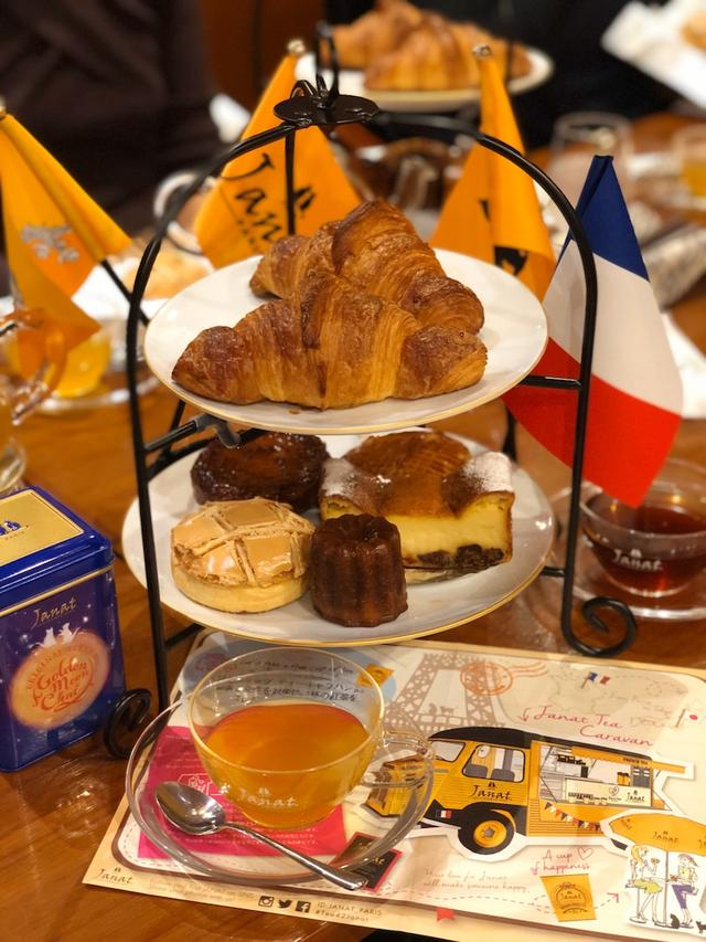 画像: フランス紅茶「ジャンナッツ」10月のワークショップは、フランス伝統菓子とともに〜