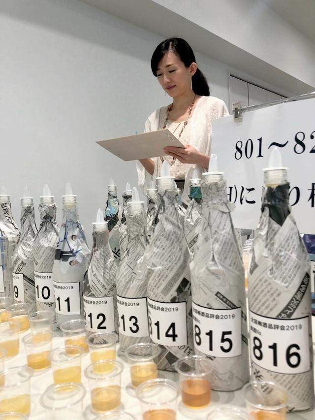 画像: 全国梅酒品評会2019にて審査員