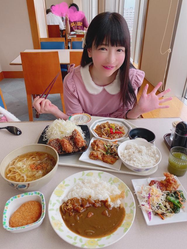 画像: TBSテレビの社員食堂で爆食♡