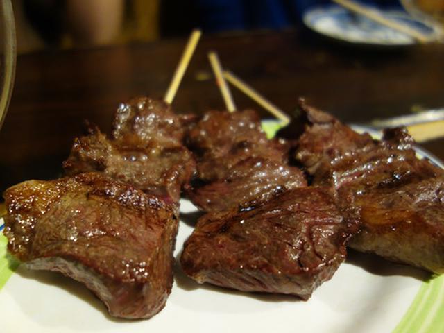 画像: 【福岡】予約必須の牛さがり串♪@焼鳥弁慶 西新店