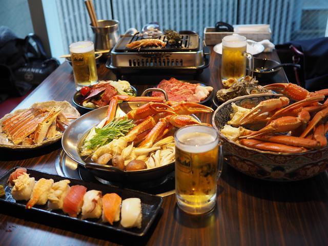 画像: 品質の高いズワイガニの食べ放題はあまりにも満足感が高すぎます! 京都 「蟹奉行 京都河原町店」