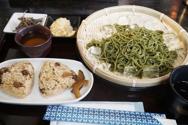 画像: 【福岡】茶そばランチ&和デザート♪@八女茶カフェ ぶんぶく