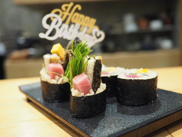画像: 正統派江戸前寿司をベースに独自の進化を続ける大好きなお寿司屋さんでお誕生日を祝ってもらいました! 福島区 「鮨 永吉」