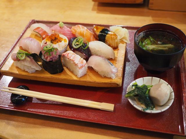 画像: 抜群のコストパフォーマンスで満足感がとても高い握り寿司ランチ! 福島区 「鮨ダイニング 龍」