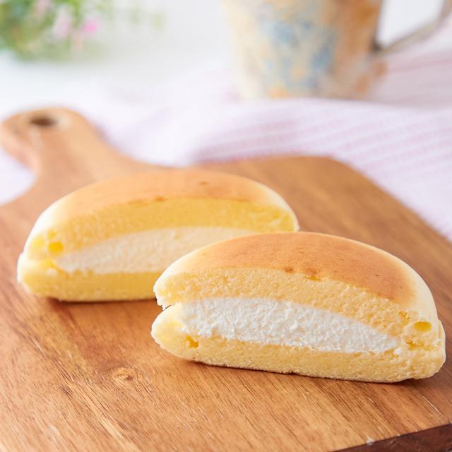 画像: コンビニスイーツ・セブイレブン チーズ蒸しケーキサンド
