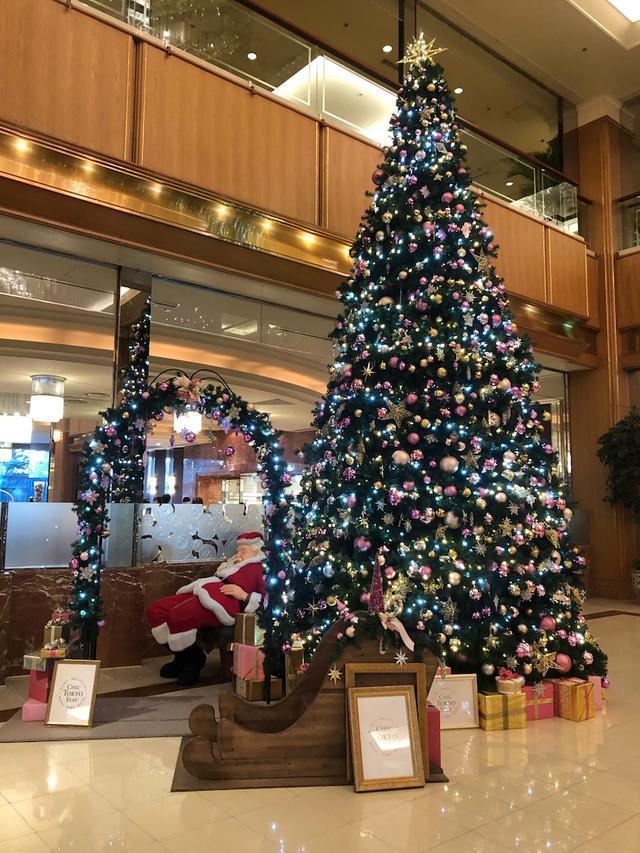 画像: ロイヤルパークホテル東京 クリスマスアフタヌーンティーとロビーの撮影が楽しいよ〜