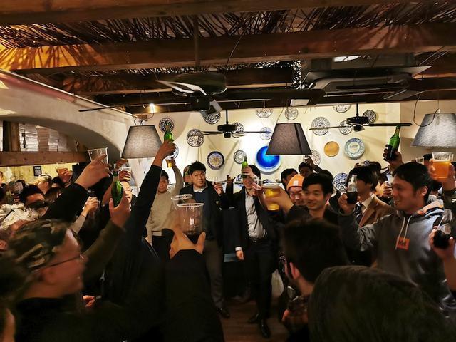 画像: 渋谷でピッツァ職人の大忘年会が開催されました!