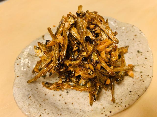 画像: ピリ辛黒胡椒の田作り