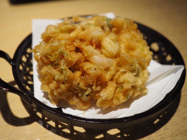 画像: 東京の天ぷらの名店の名物かき揚げは思わず唸るほどのさすがの美味しさでした! 京都市下京区 「銀座ハゲ天 京都ポルタ店」