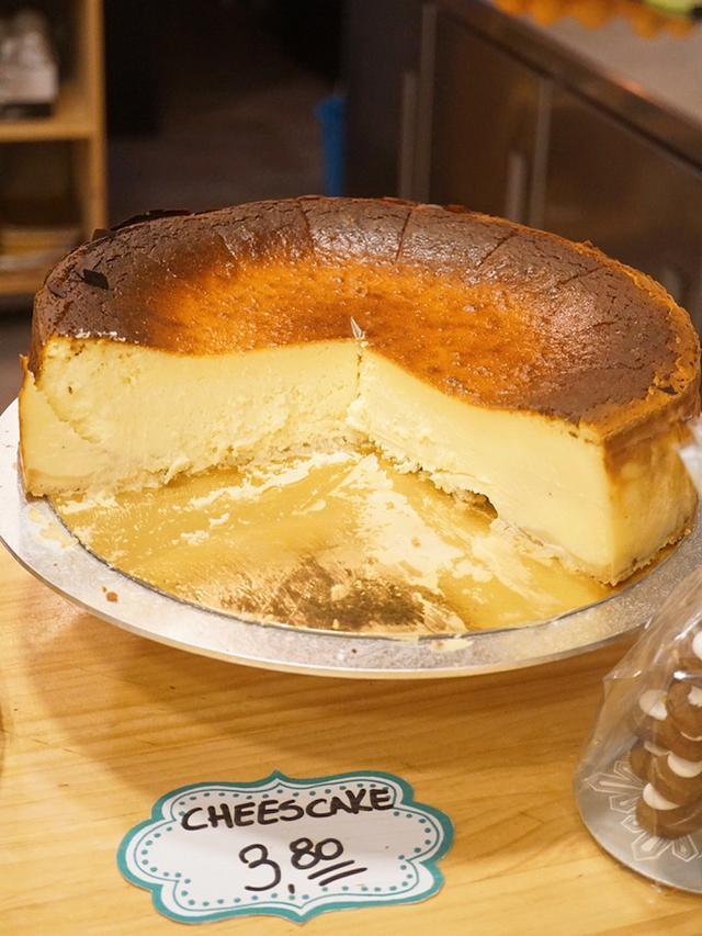 画像: 11.バスクチーズケーキの本場!サンセバスティアンへゆく:11軒目 アントジト ペストリー