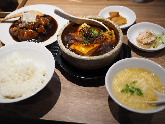 画像: 小皿中華バルのお得なランチセットは美味しくて満足感が高いです! 梅田 「小皿中華 桃天 LINKS UMEDA店」