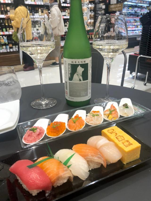画像: 紀ノ国屋渋谷店でイートイン日本酒♪