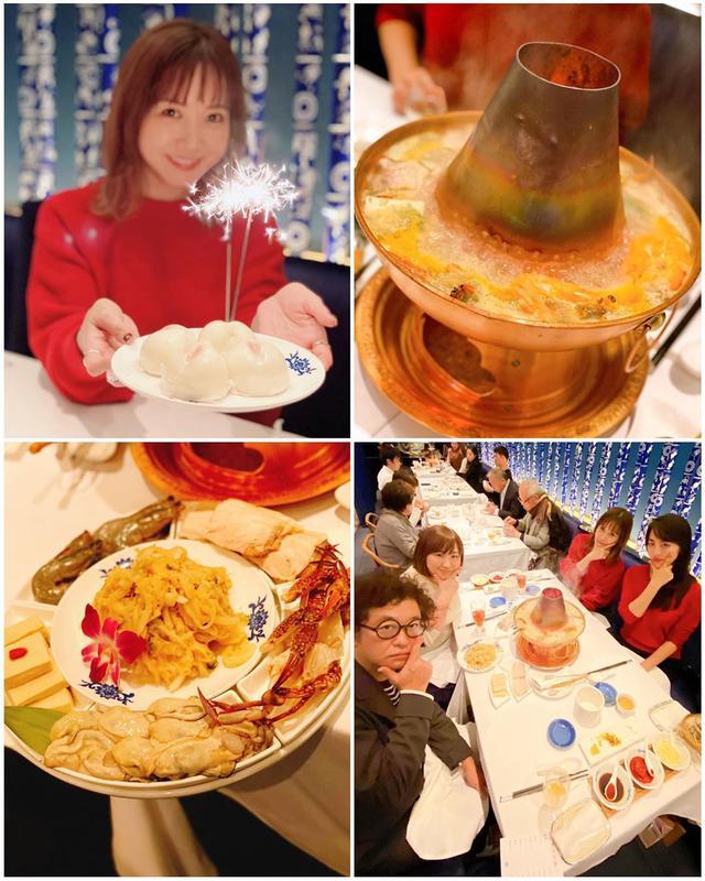 """画像1: 秋山具義 on Instagram: """"神谷町『華都飯店(シャトーハンテン)』で、「酸菜火鍋」という発酵した白菜や蟹、海老、豚バラの鍋。 めっちゃ美味しかった! たっぷり酵素で翌日カラダがスッキリとのこと。 明日が楽しみ! 辛くない火鍋もあるんですね〜 …"""" www.instagram.com"""