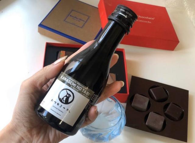 画像: パリのシェフ達も絶賛!チョコレートに合う新潟純米原酒「カワセミの旅」/ たのしいお酒.jp