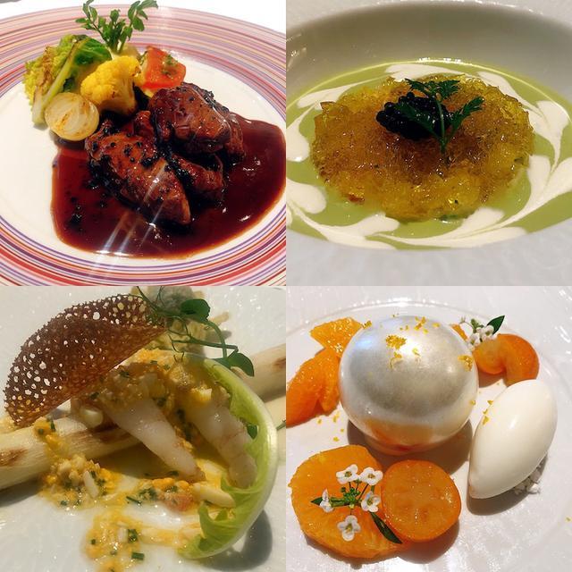 画像: フレンチ「シェ・イノ」春ランチ 料理画像