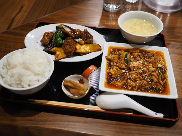 画像: ビルの2階の隠れ家中華のランチは麻婆豆腐+選べる1品で満足感が高いです! 北浜 「ましの軒」