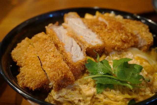 画像: 【福岡】博多うまか豚の極みカツ丼&ミニうどんセット♪@うどん 大文字