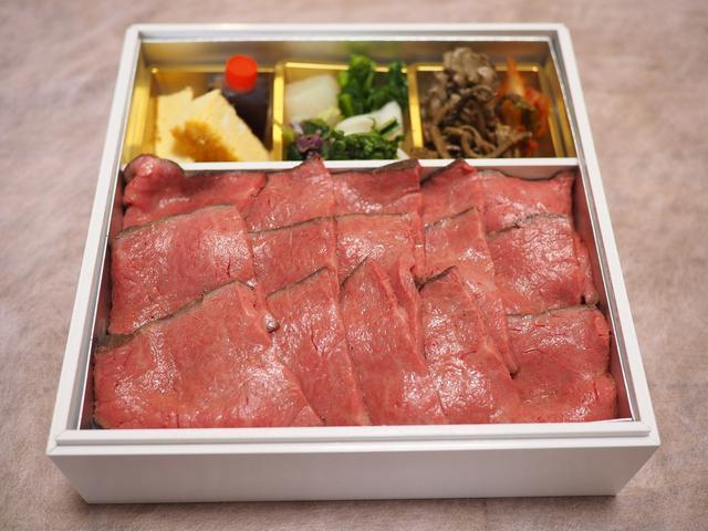 画像: 高級肉割烹の絶品黒毛和牛ローストビーフ重!週末くらいはちょっと贅沢なテイクアウトが食べたいですね(^^ 西宮市 「肉 阿久」