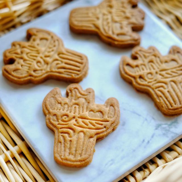 画像: 「縄文土器クッキーを焼きました」