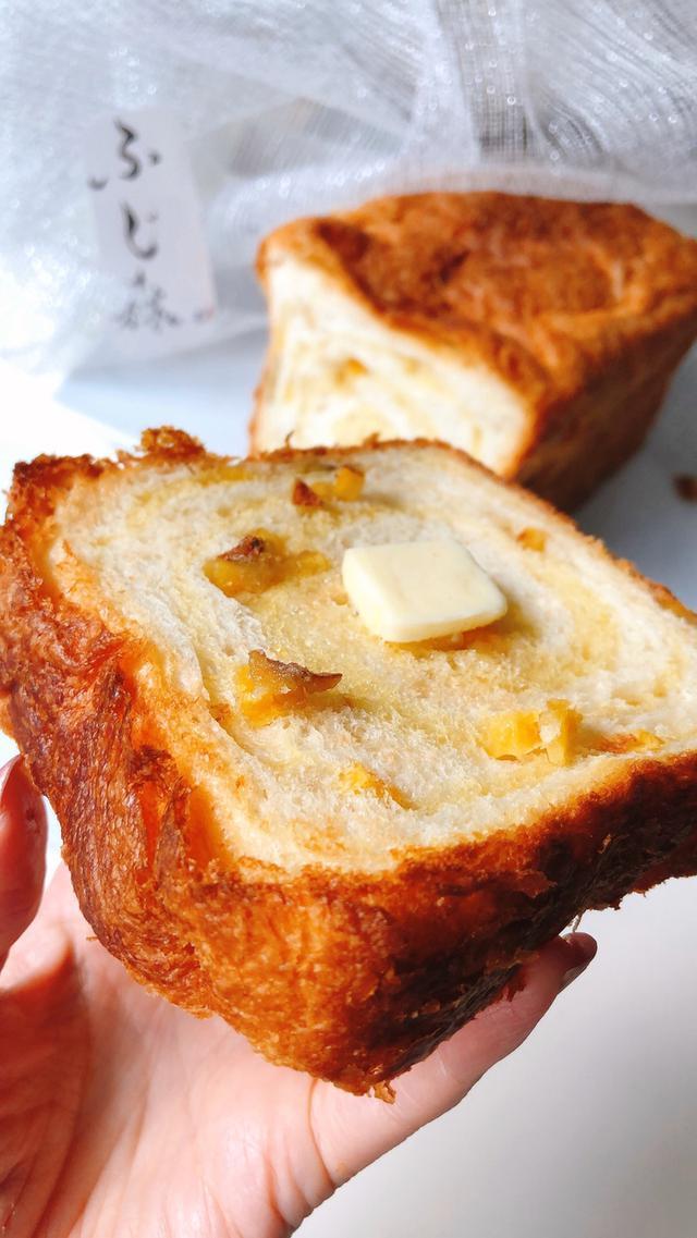 画像: ヤバうま〜❗️安納芋 食パン!〜パンの最高峰「ふじ森」5月の新商品/数量限定お見逃しなく