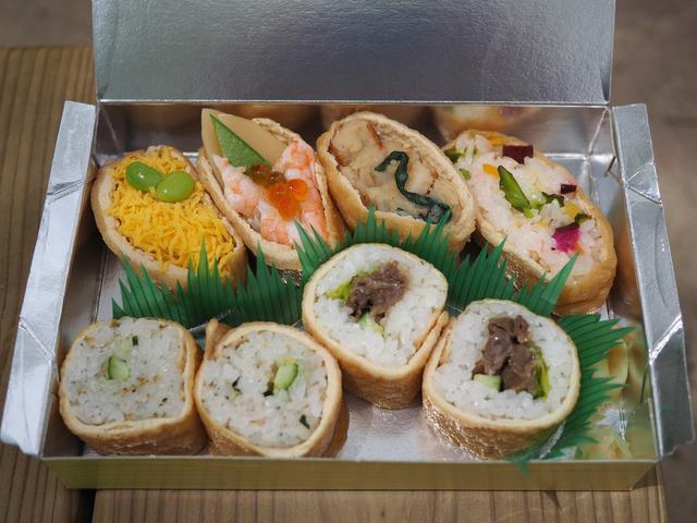 画像: いなり寿司専門店のこだわりの油揚げとお米とお水を使った様々な絶品いなり寿司が楽しめます! 豊中市 「いなり寿司 ななや」