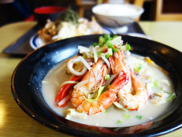 画像: 【福岡】海鮮チャンポン&鶏照りマヨ定食♪@かちかち山 大博町店