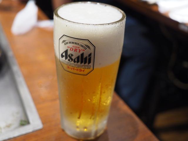 画像: 店内で食べる料理、飲むビールはやっぱり最高です! 新大阪 「めっせ熊 新大阪店」