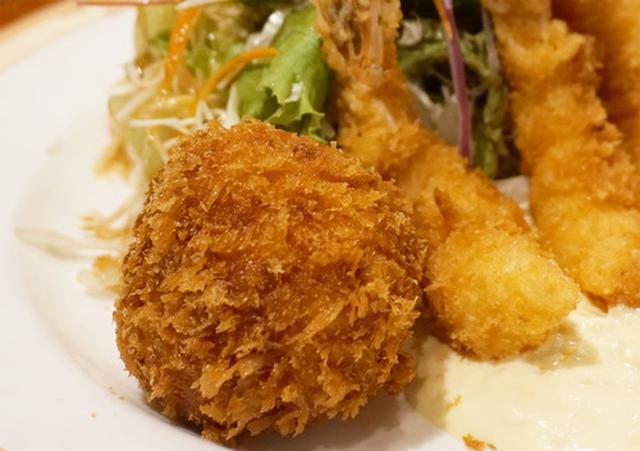 画像: 【福岡】チキンカツ・コロッケ・エビフライ定食♪@洋食 中村家