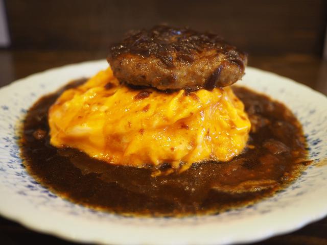 画像: 名物のトロトロオムライスオムライスハンバーグは美味しくてボリューム満点で満足感が高かったです! 昭和町 「洋食 ふきのとう」