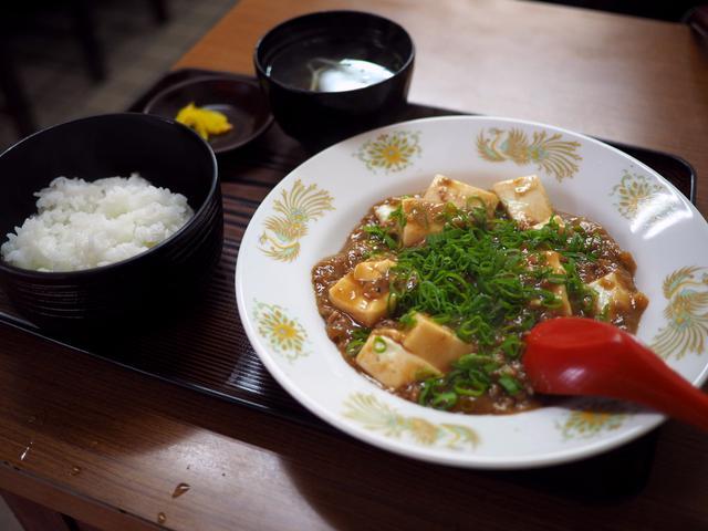 画像: 謎の町中華の一度食べたら間違いなくハマる独特の味わいの麻婆豆腐! 中央区大手町 「すいたや」