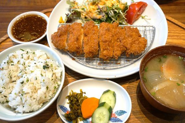 画像: 【福岡】とんかつ定食&A定食♪@キッチンよい一日 西長住店