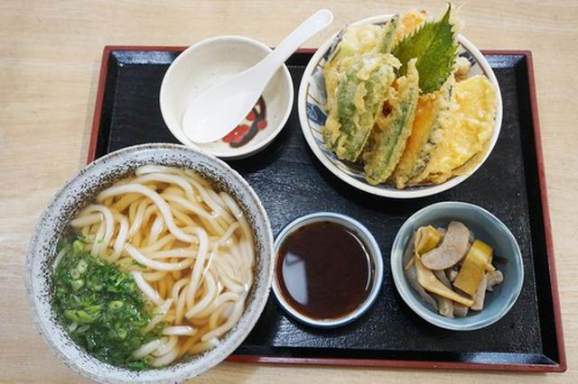 画像: 【佐賀】ボリューミーな天ぷらうどん♪@ひの木屋うどん