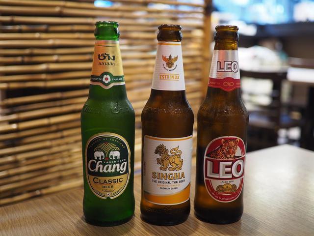 画像: タイのビール3種のみ比べのフェアはとてもお得でビール好きにはたまりません! 梅田 「クンテープ ルクア大阪店」