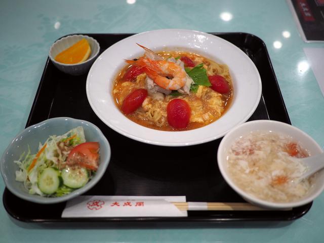 画像: 夏の風物詩の清涼感溢れる『トマトキムチ冷麺』がグレードアップしてさらに美味しくなりました! 心斎橋 「大成閣」
