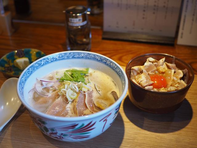 画像: 豊中の大人気店の姉妹店の完成度の高い鶏白湯専門店がオープンします! 東大阪市 「島田製麺食堂鶏白湯専門店」