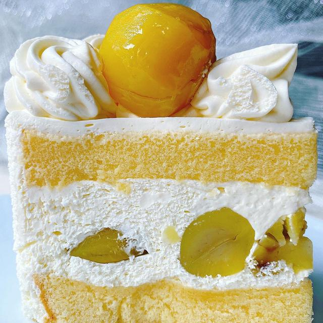 画像: Instagram 銀座千疋屋 和栗のショートケーキ
