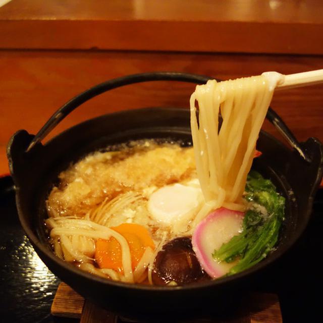 画像: 【福岡】鍋焼きうどん♪@能古うどん 長尾本店