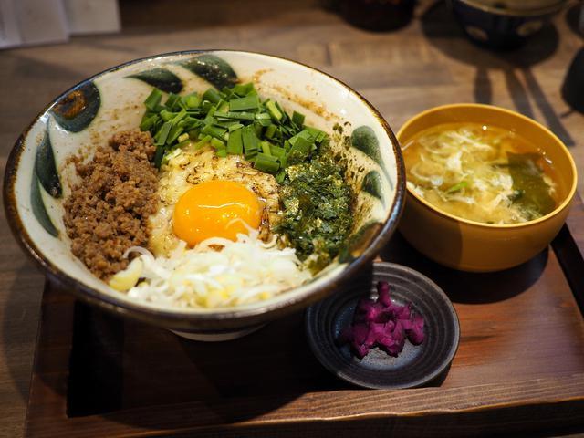 画像: 魚介とお出汁の旨味が効いたジャンク系ではない絶品まぜ麺! 福島区 「まぜ麺 マホロバ」