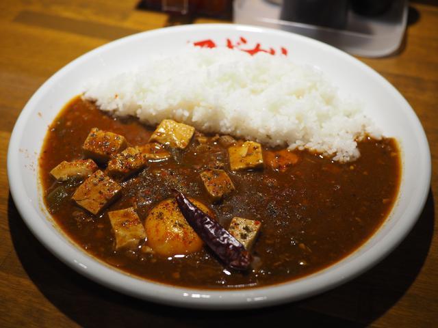 画像: 病みつき系の麻婆豆腐とコク旨の欧風カレーの中間の味わいの絶品麻婆咖喱! 難波千日前 「マボカリ」
