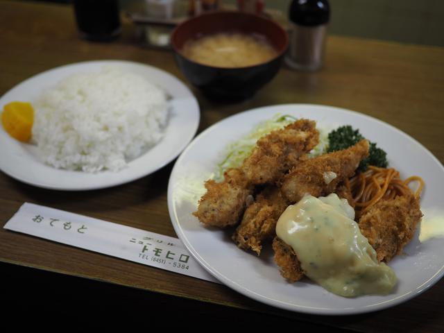 画像: 感動的に旨い!老舗洋食屋さんの冬季限定カキフライ! 福島区 「グリル ニュートモヒロ」